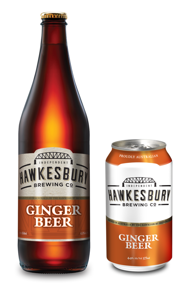 Ginger Beer 650ml bottle & 375ml can