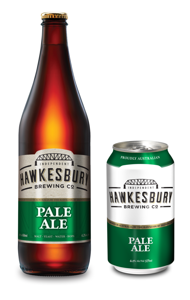 Pale Ale 650ml bottle & 375ml can