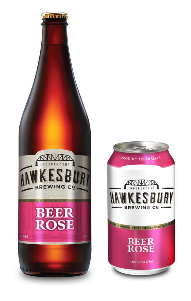 Beer Rose 650ml bottle & 375ml can