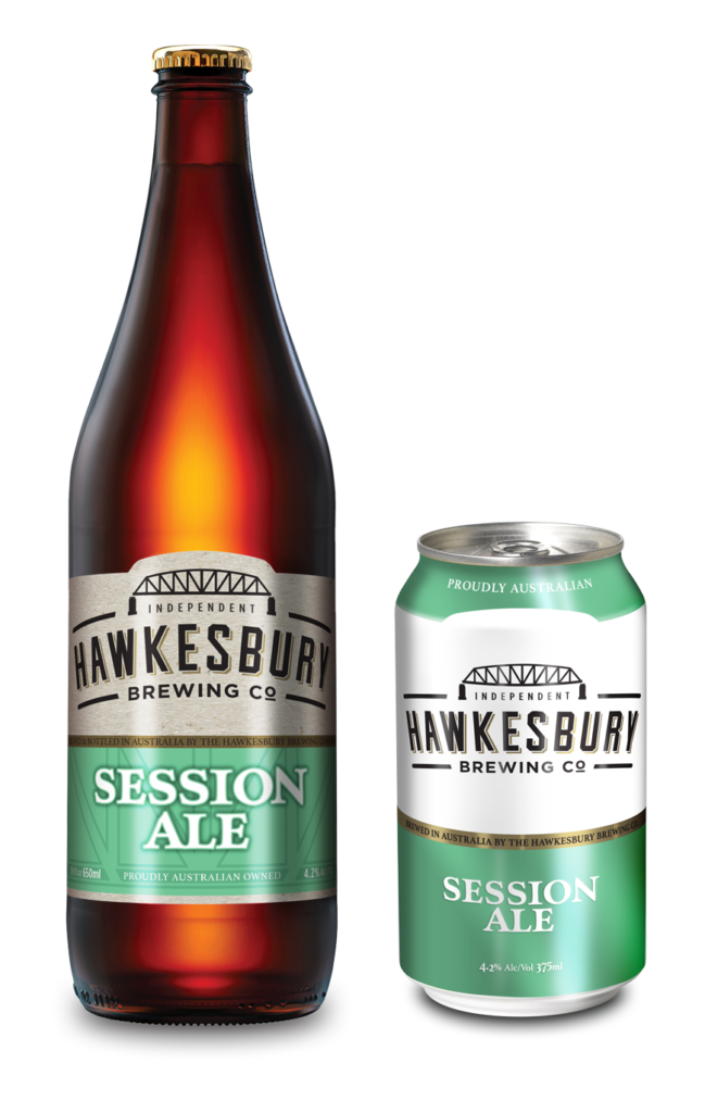 Session Ale 650ml bottle & 375ml can