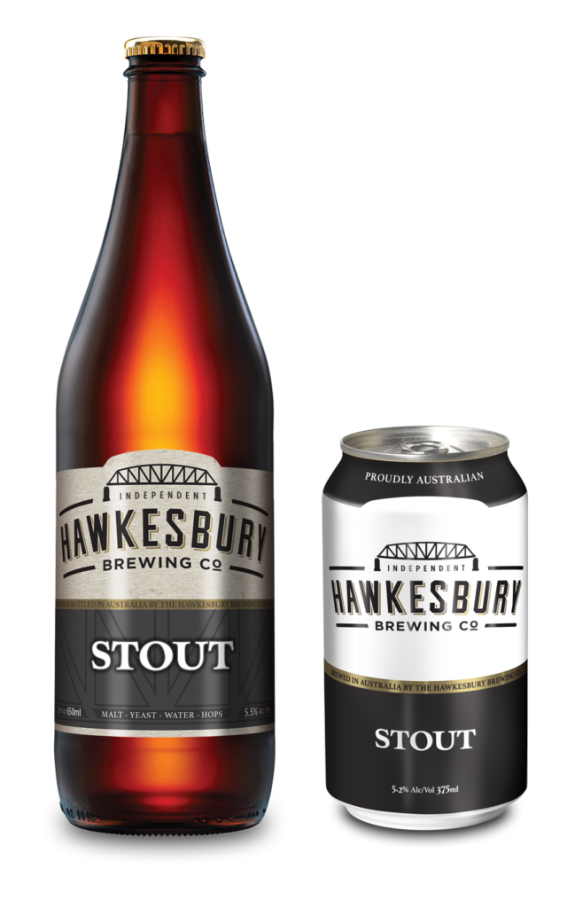 Stout 650ml bottle & 375ml can